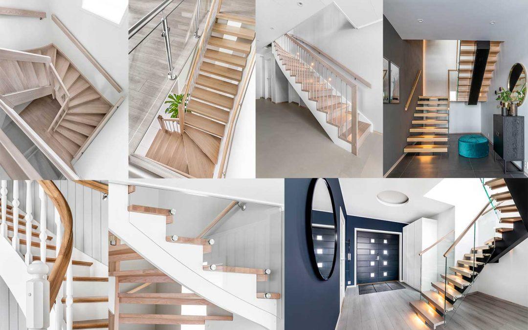 Hva bør du tenke på når du skal velge ny trapp?